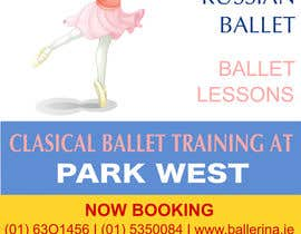 nº 16 pour Design flyer for ballet school par eloren