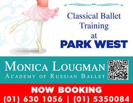 #28 for Design flyer for ballet school by Herbertwong