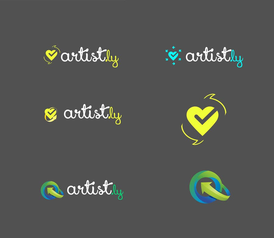 #73 for Logo for Artist.ly by DGelbouras