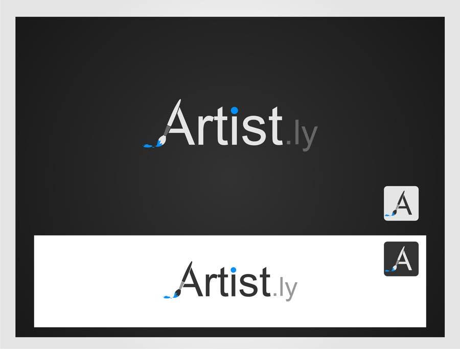 Penyertaan Peraduan #129 untuk Logo for Artist.ly