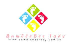 Nro 9 kilpailuun Design a Logo for BumbleBee Lady käyttäjältä carolinafloripa