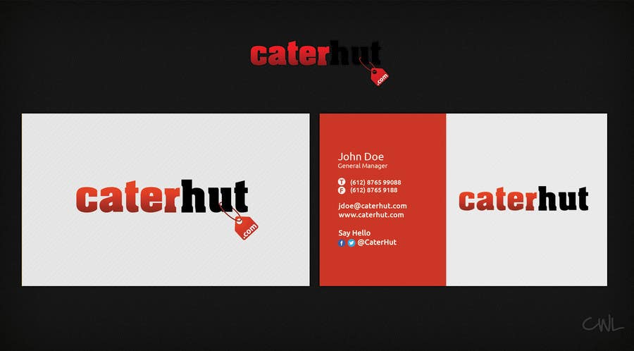 #7 for Design some Business Cards by CreativeWebLab