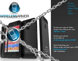 #6 para Design a Flyer for Wireless Armor por Sahir75