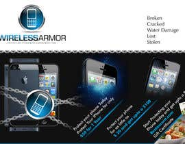 #11 para Design a Flyer for Wireless Armor por Sahir75