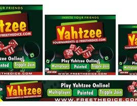 dekaszhilarious tarafından Design a banner and other ad images for yahtzee website için no 17