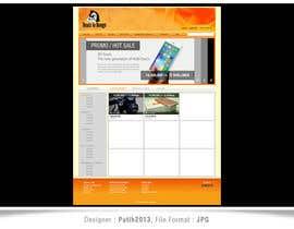 Nro 2 kilpailuun Draw a quick JPEG/TIFF Mockup of a website käyttäjältä putih2013