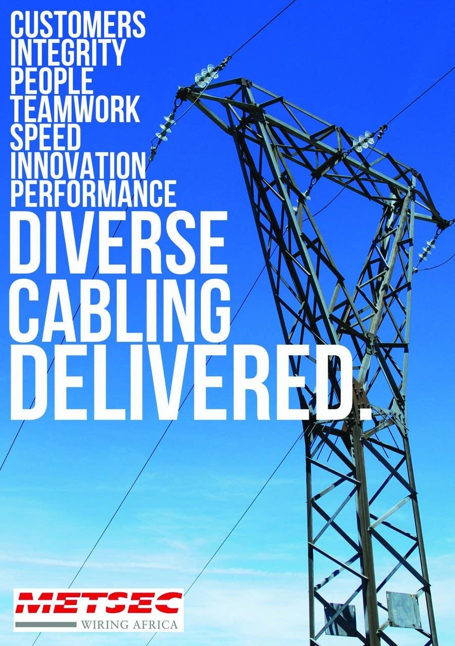 Wettbewerbs Eintrag #                                        13                                      für                                         Advertisement Design for Metsec Cables Ltd
