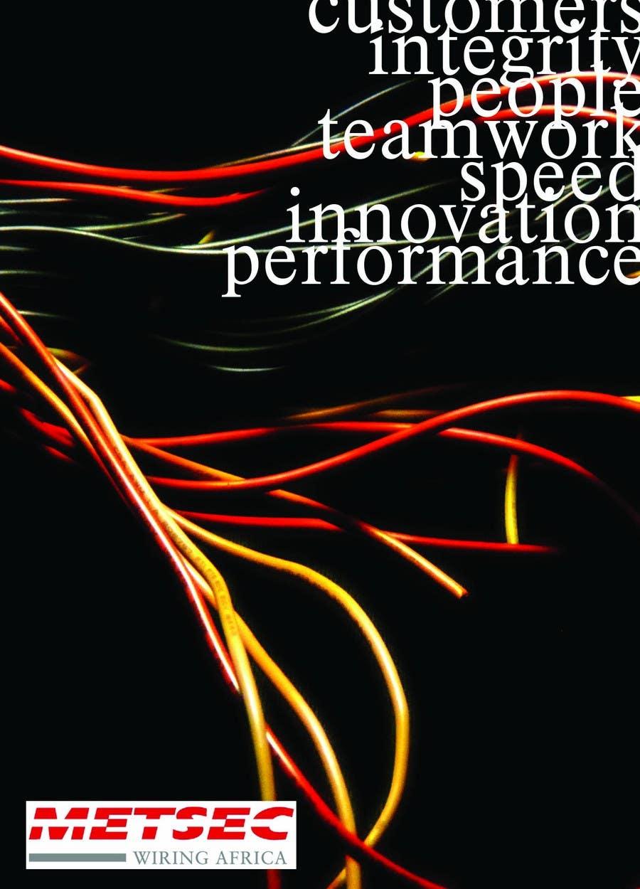 Wettbewerbs Eintrag #                                        10                                      für                                         Advertisement Design for Metsec Cables Ltd
