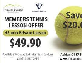 Nro 15 kilpailuun Tennis Club Offers käyttäjältä rcoco