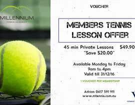 Nro 14 kilpailuun Tennis Club Offers käyttäjältä kratiporwal