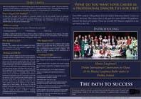 Proposition n° 3 du concours Graphic Design pour Design a Flyer for a prestigious dance academy