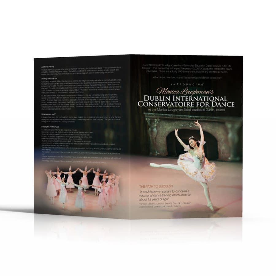 #2 for Design a Flyer for a prestigious dance academy by b74design