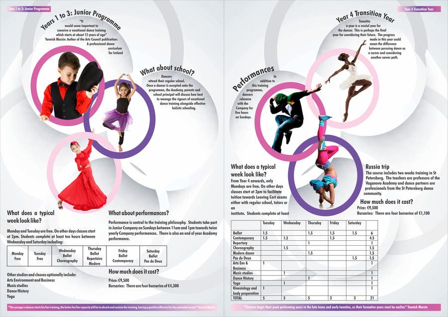 Proposition n°35 du concours Design a Flyer for a prestigious dance academy