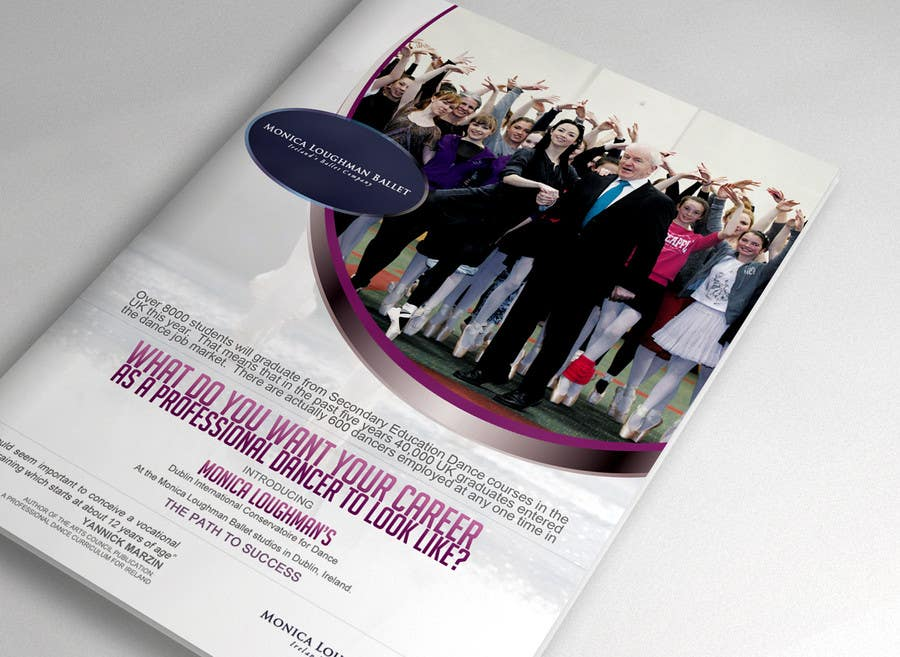 Proposition n°12 du concours Design a Flyer for a prestigious dance academy
