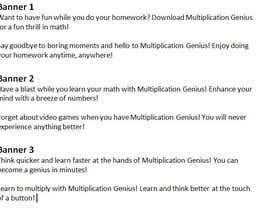 #13 for Facebook ad texts for educational app by BreYvonne
