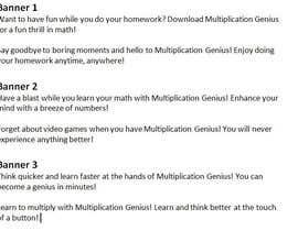 Nro 13 kilpailuun Facebook ad texts for educational app käyttäjältä BreYvonne