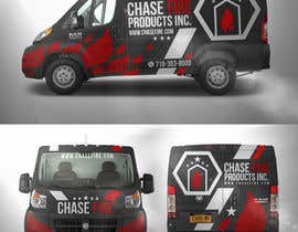 elgu tarafından Design a Wrap Advertising my Fire Safety Products business for my Truck için no 9