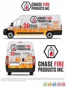 priyesh7742 tarafından Design a Wrap Advertising my Fire Safety Products business for my Truck için no 12