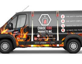 tomislavludvig tarafından Design a Wrap Advertising my Fire Safety Products business for my Truck için no 19