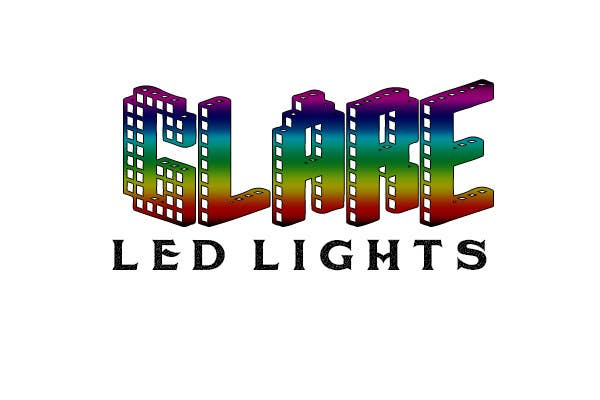 #18 for Design a Logo for Glare LED Lights by andreeagh90