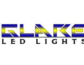 nº 19 pour Design a Logo for Glare LED Lights par andreeagh90