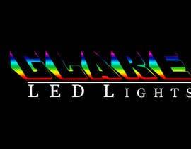 #22 para Design a Logo for Glare LED Lights por andreeagh90