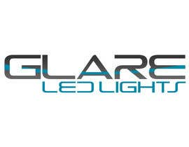 #14 para Design a Logo for Glare LED Lights por vladspataroiu