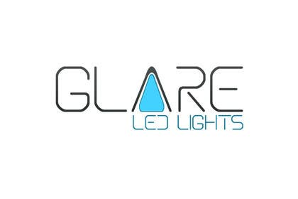 #15 for Design a Logo for Glare LED Lights by vladspataroiu