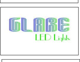 nº 26 pour Design a Logo for Glare LED Lights par Loresita