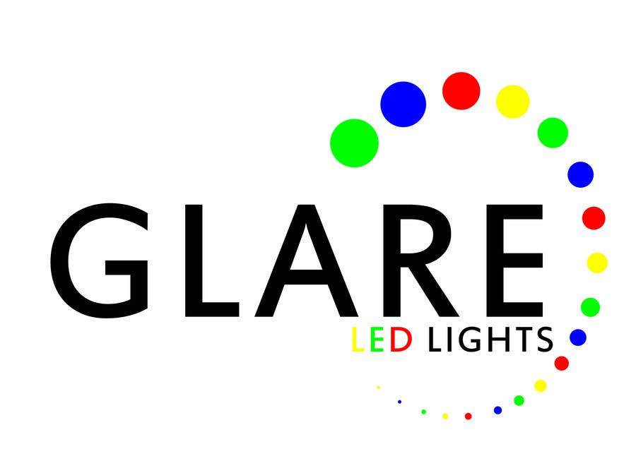 Konkurrenceindlæg #4 for Design a Logo for Glare LED Lights