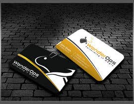 #32 untuk Design some Business Cards for WonderOps oleh kreativedhir