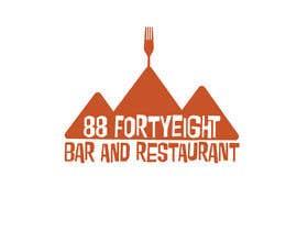 Nro 278 kilpailuun Design a Logo 88FortyEight Bar and Restaurant käyttäjältä gerrydwyer