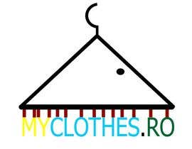 #35 para Design a Logo for MyClothes.ro por VikiFil
