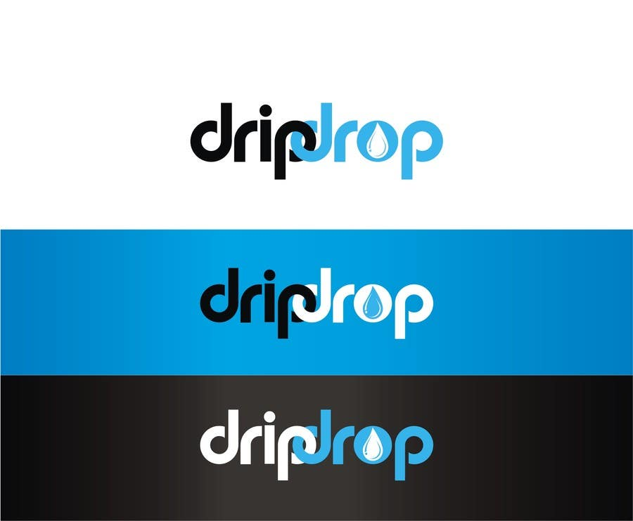 Kilpailutyö #130 kilpailussa Design a Logo for DRIP DROP