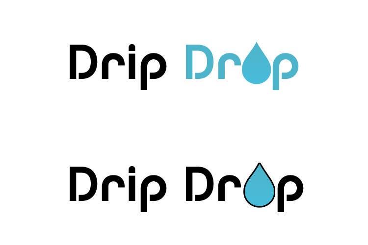 Kilpailutyö #62 kilpailussa Design a Logo for DRIP DROP