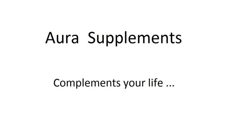 Kilpailutyö #50 kilpailussa Name a Supplement Company