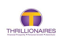 #395 za Logo Design for Thrillionaires od fecodi