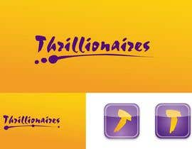 #386 για Logo Design for Thrillionaires από fecodi