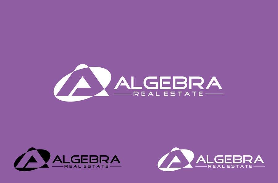 Penyertaan Peraduan #282 untuk Design a Logo for Algebra Real Estate