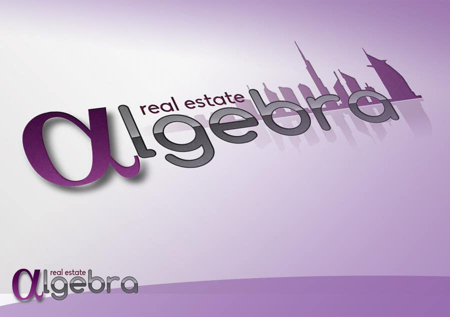#95 for Design a Logo for Algebra Real Estate by zoolei