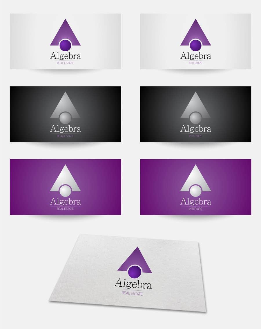 Penyertaan Peraduan #247 untuk Design a Logo for Algebra Real Estate