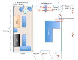 Nro 2 kilpailuun Reception and guest area makeover käyttäjältä zoranaelek