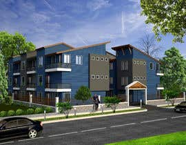 #6 for I need 3D renderings done for a town house complex by archmamun