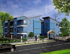 #10 for I need 3D renderings done for a town house complex by archmamun