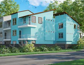 #4 for I need 3D renderings done for a town house complex by Maxvisualization