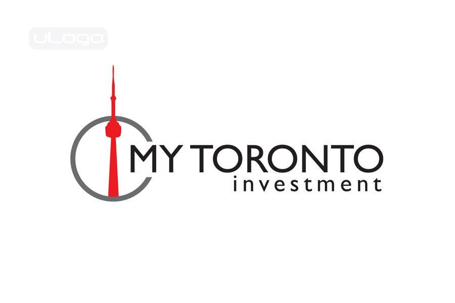 Penyertaan Peraduan #417 untuk Logo Design for My Toronto Investment