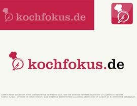 ncarbonell11 tarafından Design a logo for the German cooking blog kochfokus.de için no 35