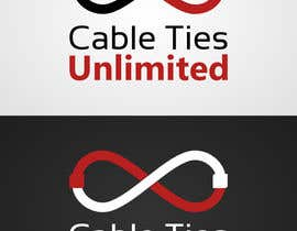 #136 untuk Design a Logo for Cable Ties Unlimited oleh RobinGranqvist