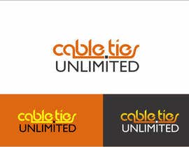 #186 untuk Design a Logo for Cable Ties Unlimited oleh rueldecastro