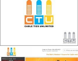 #26 para Design a Logo for Cable Ties Unlimited por lanangali